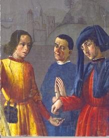 Фреска из капеллы святого Мартина, Флоренция