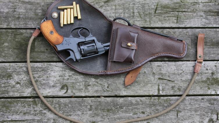 Револьвер системы Наган образца 1895 г.
