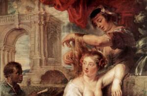 Рубенс. «Вирсавия». О чем молился царь Давид?