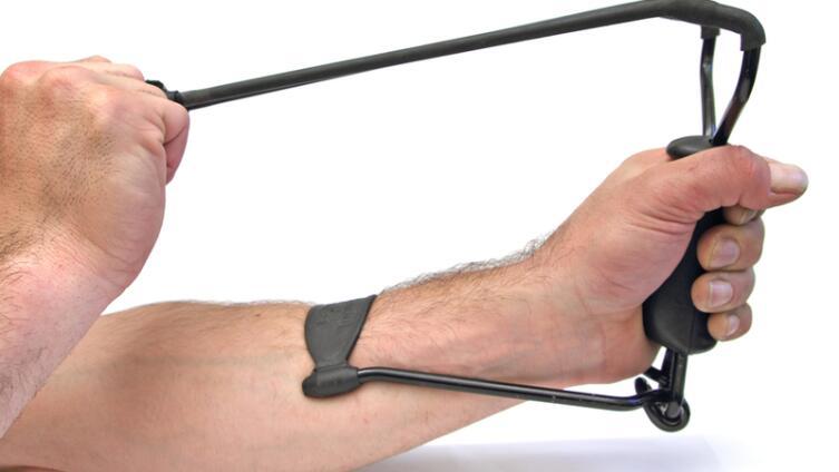 Рогатка - несерьёзное оружие? А если это рогатка для спецназа?
