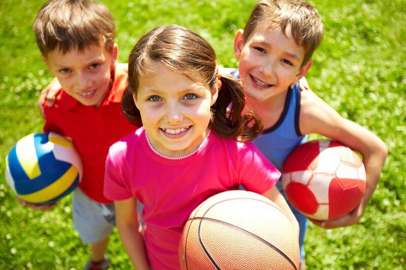 картинки для детей дети занимаются спортом