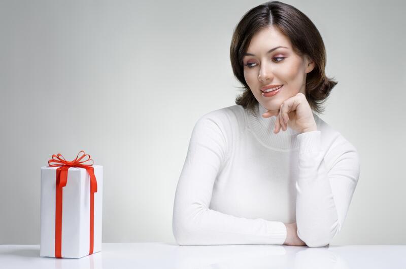 Женщины и подарки - ВОПРОСИК ВОПРОСИК
