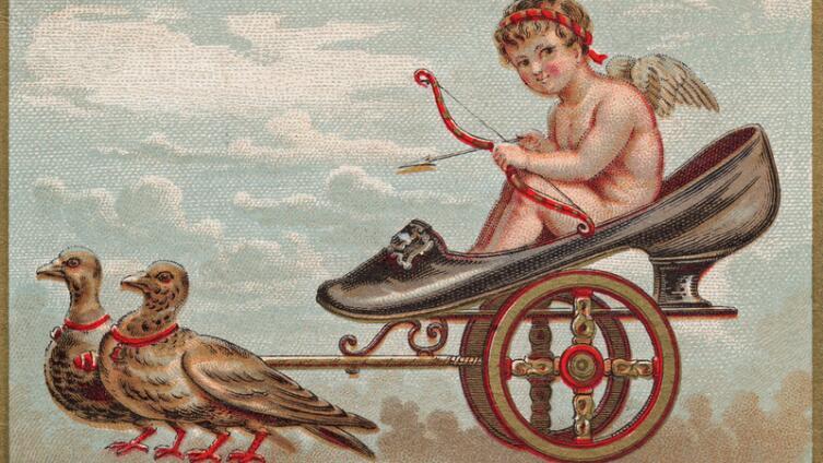 Амур. Почему символ влюбленности изображается ангелочком с луком и стрелами?