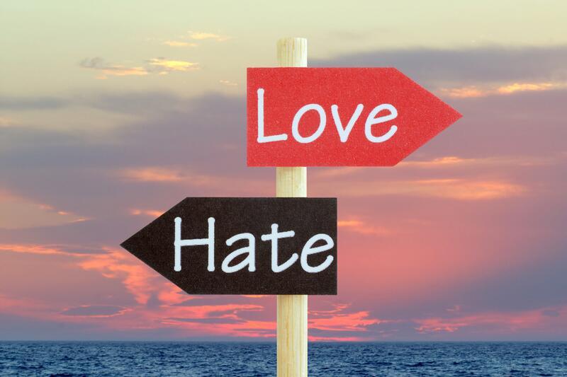 Любовь и ненависть: всегда рядом?