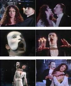 Сара Брайтма и Майкл Кроуфорд исполняют «The Music Of The Night».