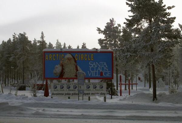 Лапландия, офис Санта-Клауса