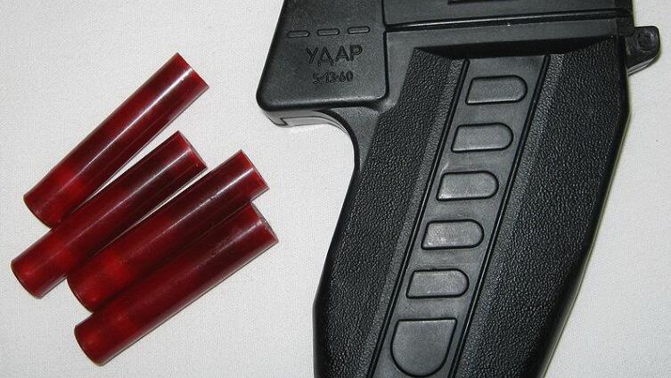Оружие самообороны УДАР (Устройство Дозированного Аэрозольного Распыления) и 4 БАМ'а