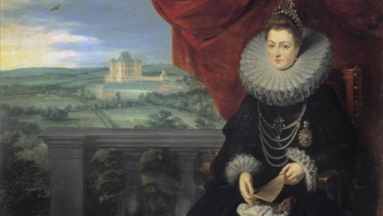 П.П. Рубенс. «Портрет инфанты Изабеллы Клары Евгении». 1615 год