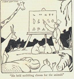 Все свои книги Лофтинг иллюстрировал сам