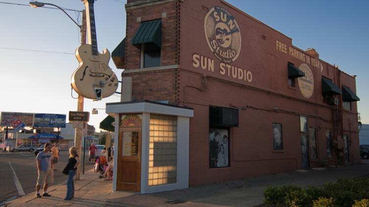 «Sun Studio», Мемфис - первая студия Роя Орбисона