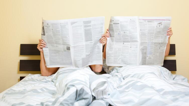 Как лучше спать супругам - вместе или врозь?