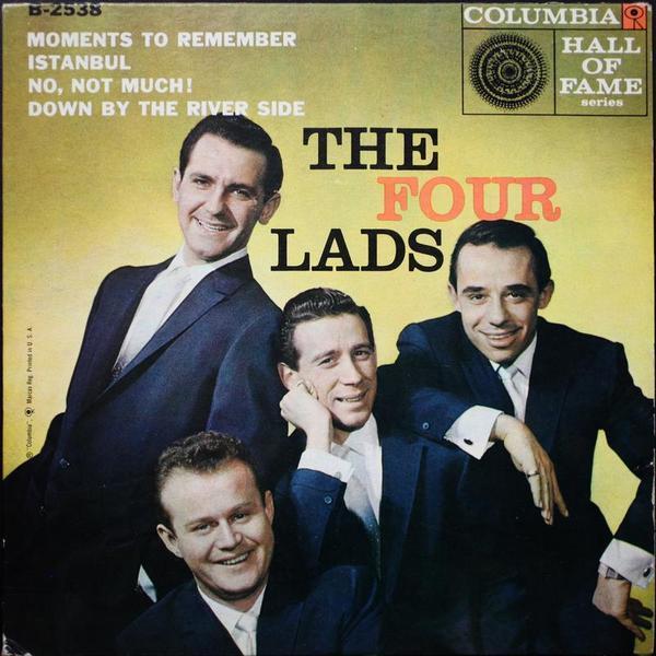 В 1953 г. в исполнении канадской группы FOUR LADS вышла песня