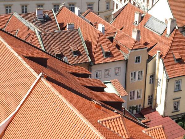Пражские крыши