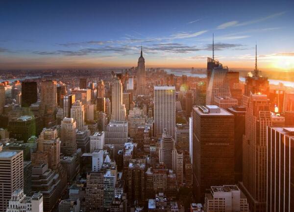 Закат над Манхэттеном. Сегодня