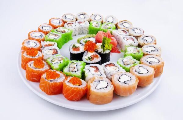 Как готовить суши?