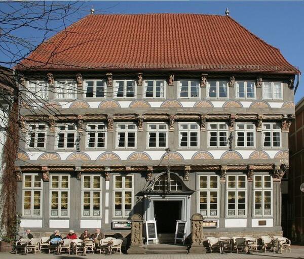 Старинный дом в Хамельне