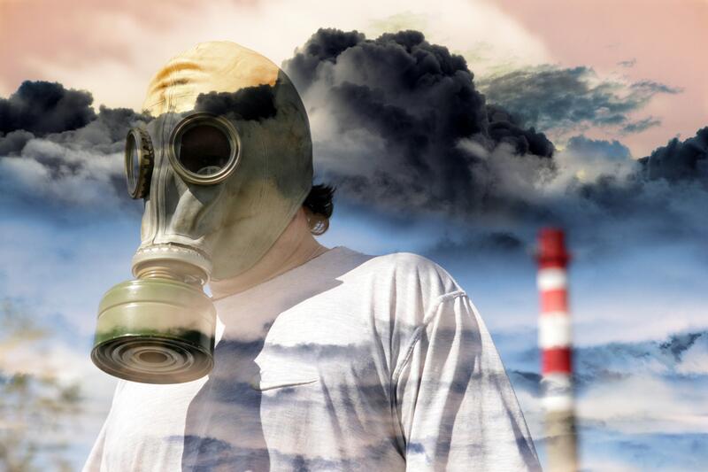 Картинки человек загрязняет воздух