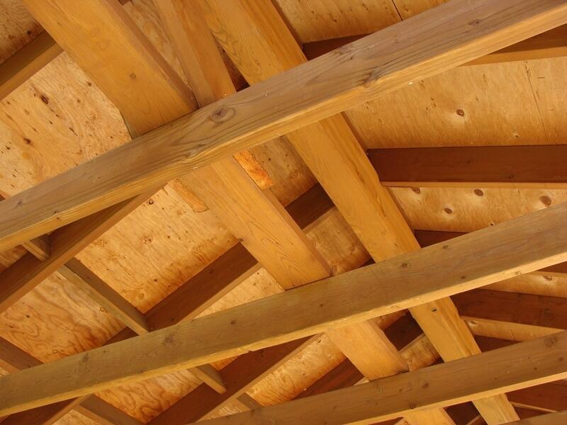 крыши шале фото