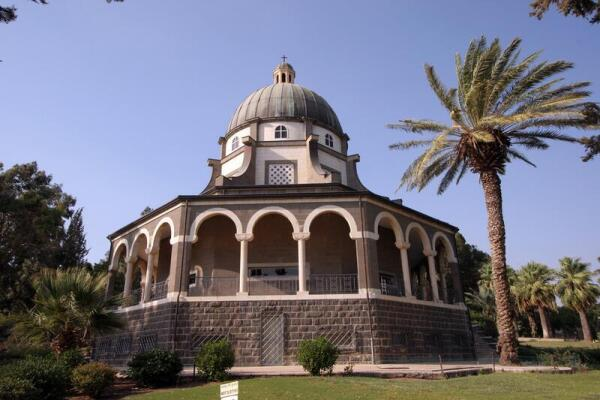 Церковь Заповедей Блаженства, Гора Блаженств