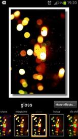 Photo effects -