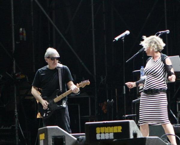 Крис Стейн и Дебби Харии в 2008 г.
