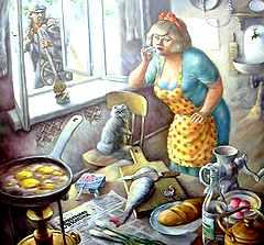 Б. Виткевич. «Кухня»