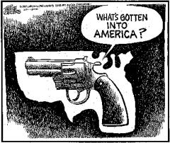 Почему Американцы так интенсивно убивают друг друга?