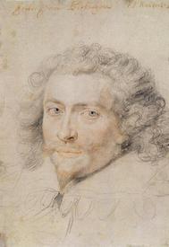 Рубенс. Эскиз к портрету герцога Букингема. 1625г.