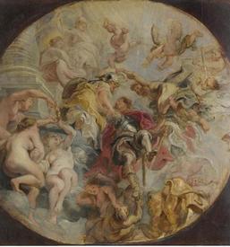 Рубенс. «Апофеоз герцога Букингема». 1625г.