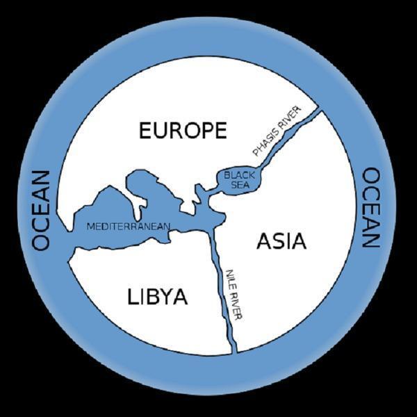 Карта мира Анаксимандра