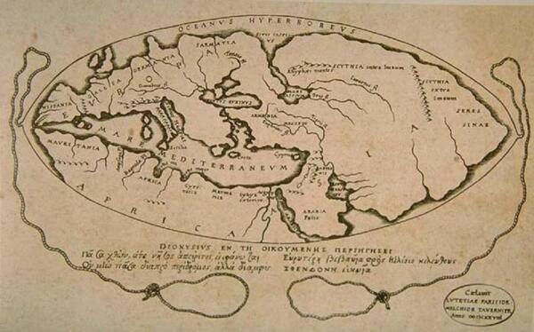 Карта мира Посейдона