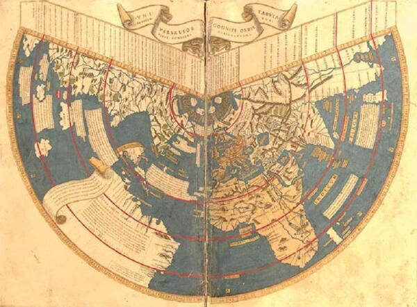 Карта Иоганна Рейша