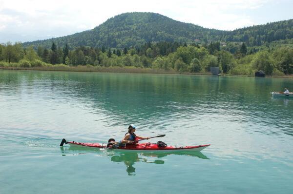 Вёртерзее - самое крупное озеро Каринтии