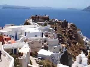 Что посмотреть, отдыхая на Крите? Санторини
