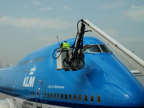 Предполетный осмотр Боинга 747
