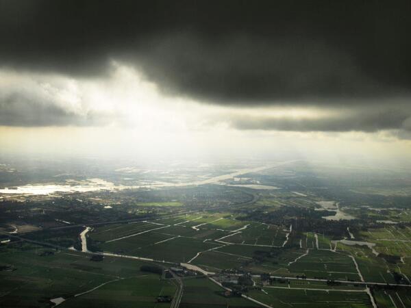 Голландия с воздуха