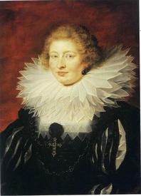 Рубенс. Портрет мадам де Вик. 1625 год. 74х53 см