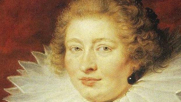 Рубенс. Портрет мадам де Вик. 1625 год. 74х53 см. Фрагмент