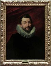 Рубенс. Портрет барона де Вик. 1625 год. 74х56 см