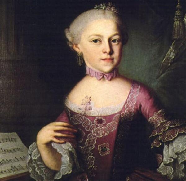 Анна Мария Моцарт, мать Вольфганга