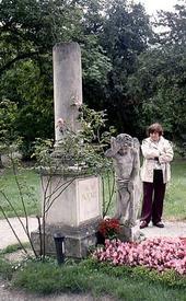 Кенотаф Моцарта на кладбище Святого Марка