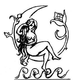 Авторский рисунок Берегини