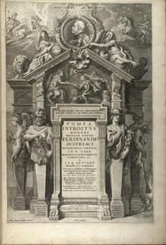 Титульный лист книги Яна Гаспара Гевертса «Торжественный въезд инфанта Фердинанда Австрийского в Антверпен».