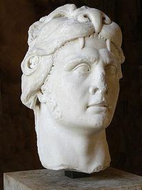 Мраморный бюст Митридата VI в образе Геракла