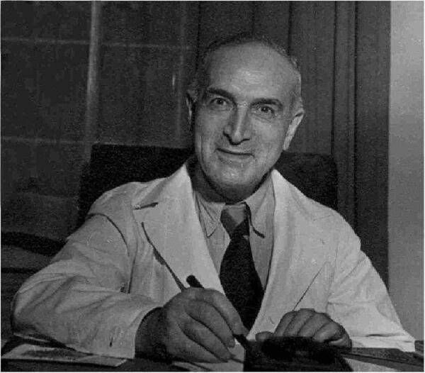 Эрнст Грэфенберг в последние годы жизни (1881-1957)