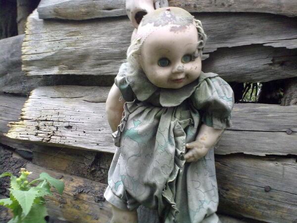 Остров кукол - не для слабонервных