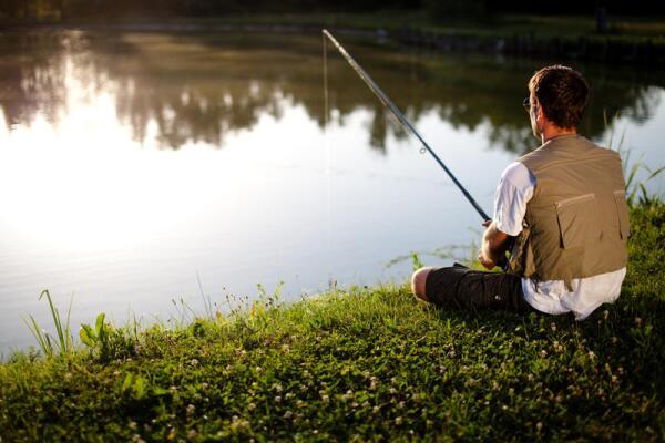 Как ловить рыбу в пруду?