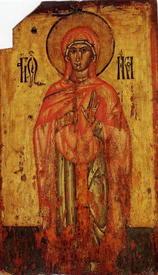 Параскева-Петка Тырновская. Икона XV в.