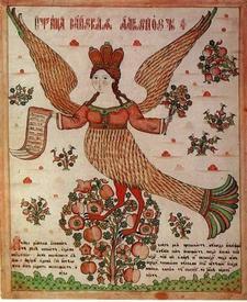 Птица райская Алконос