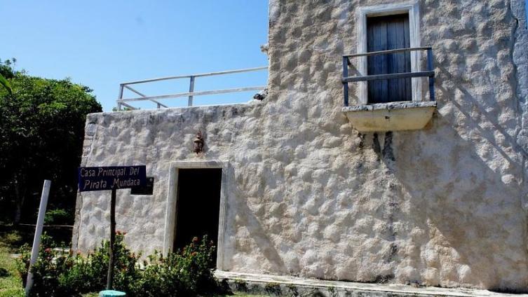 Руины дома пирата Мундаки